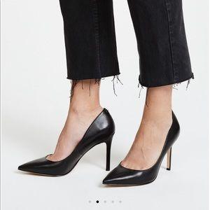 Sam Edelman Black leather Hazel Pumps Stiletto